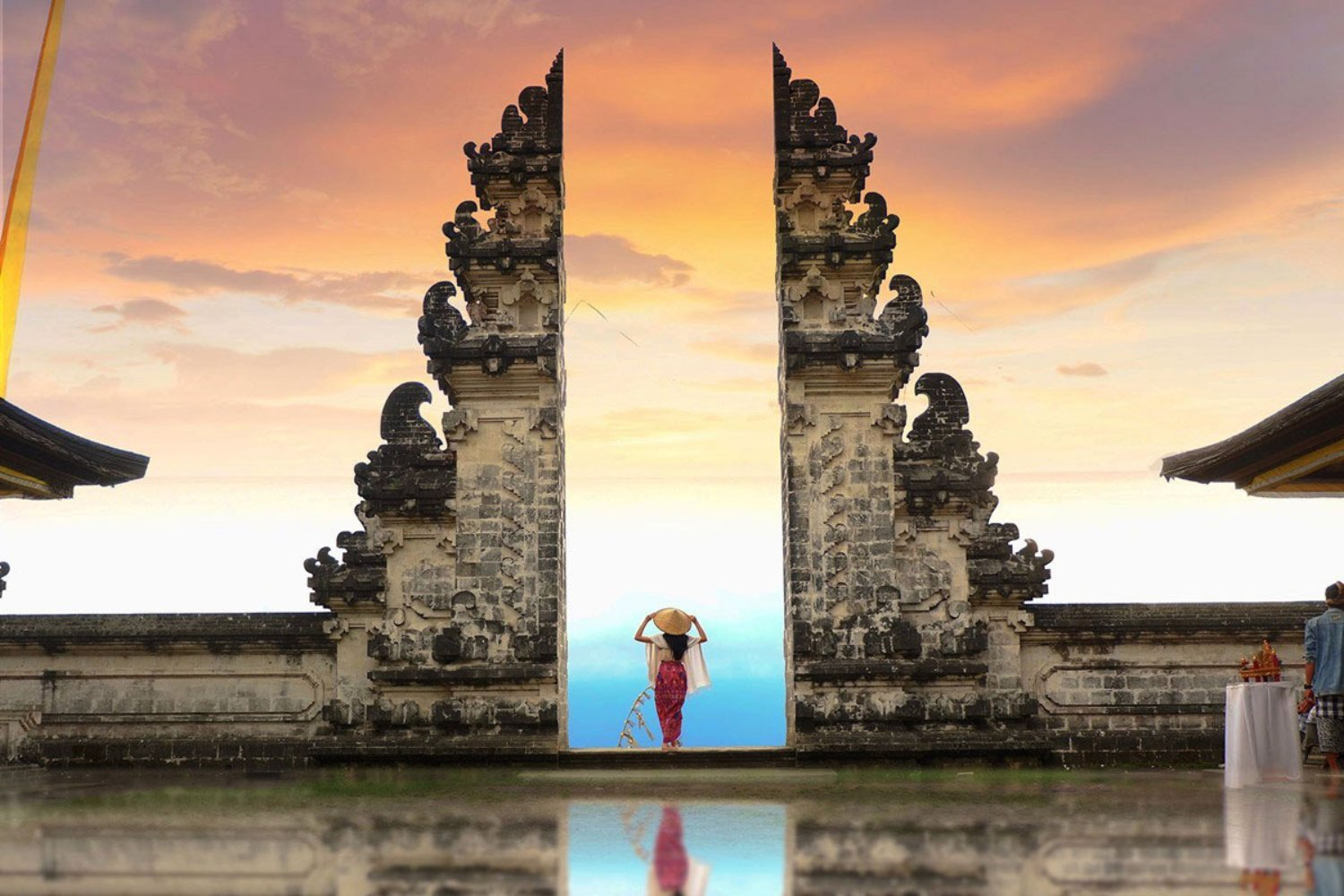 Distance from Ubud to Lempuyang Temple (Bali Taxi Service)