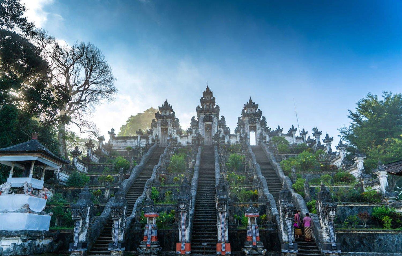 Balinese Split Gate at Lempuyang Temple
