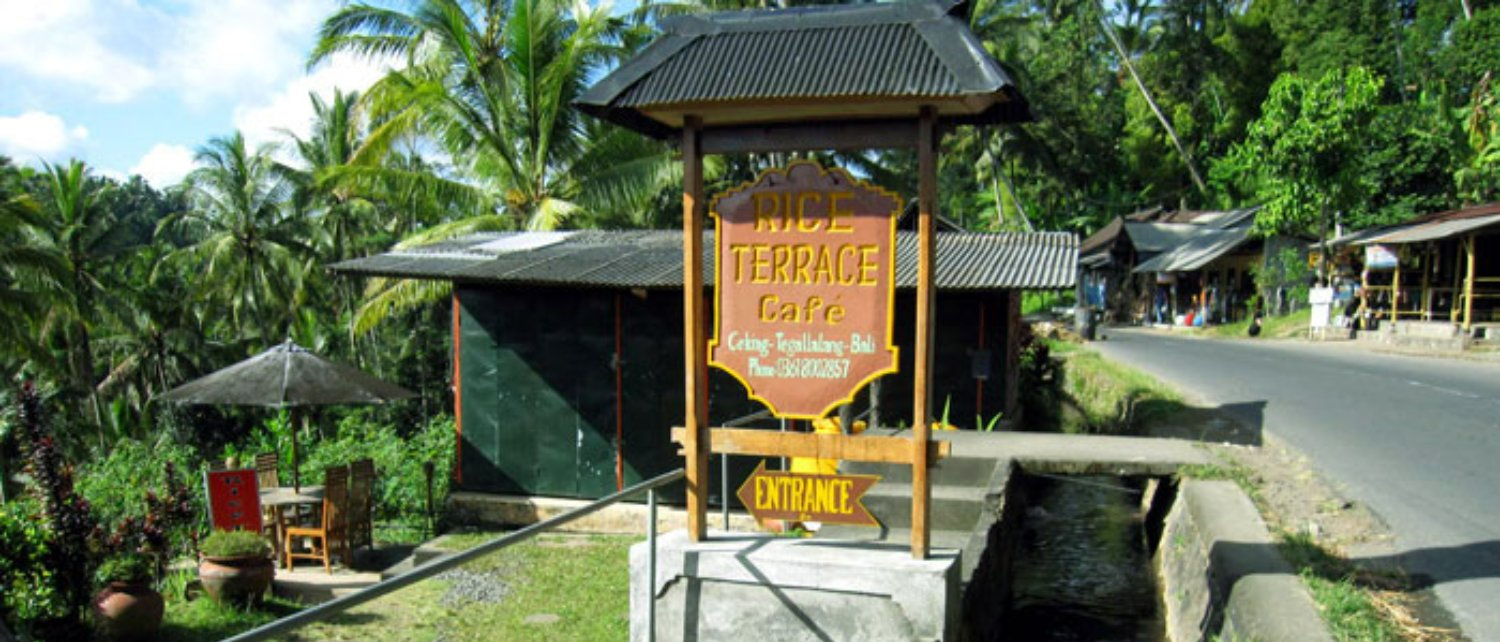 Entrance of Tegalalang Rice Terrace